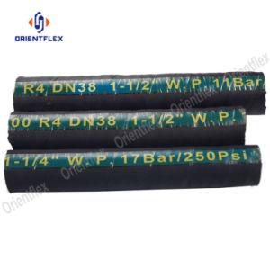 Mangueira de borracha hidráulico R1 R2 R4
