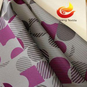 코트 인쇄 된 폴리 에스터 원단 (XY-2012019M)