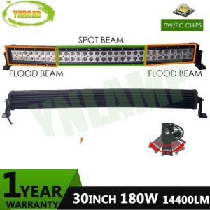 30 180W LED CREE curva de la barra de luz LED de automoción
