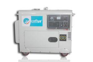 Fy6500D Professional gerador diesel de Fase Única silenciosa