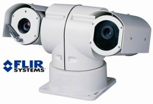 HD montados no veículo IP PTZ de Imagens Térmicas PTZ Camera CCD