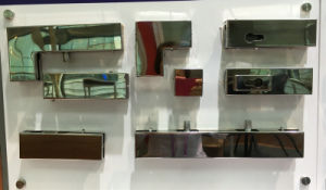Canto do euro Lock Fechaduras patch Patch de canto de vidro a trava de montagem