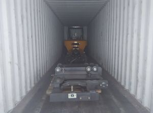 Montacargas pesante carrello elevatore del camion da 7 tonnellate con il motore di Isuzu