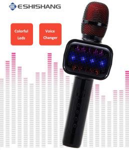 Wireless micrófono de KARAOKE con sonido activa la luz de flash