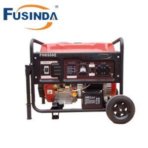 Lado começando 230V 5Kw Gerador Gasolina Fh6500e