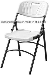En el exterior de acero portátil el tubo de plástico silla plegable