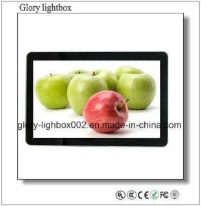 호리호리한 FHD LED 텔레비젼 46 인치 LCD 모니터 입상