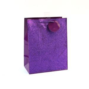 Розовый моды магазин игрушек искусства бумажные мешки подарков с покрытием