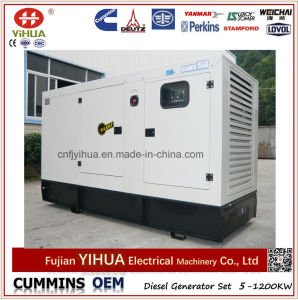 60КВТ 75 Ква Cummins Silent дизельного генератора с маркировкой CE ISO на заводе для изготовителей оборудования
