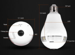 1.3MP H. 264 WDR Cámara de seguridad IP con IR LED