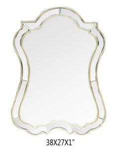 Un gran espejo de pared decorativos vanidad 27X 38 pulg.