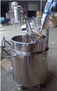 Acier inoxydable poli de l'eau du réservoir de liquide de stockage