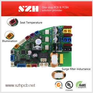 2layer Fr4 최신 판매를 가진 엄밀한 자동적인 Bidet PCB 제조자