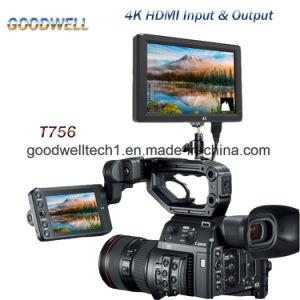 4K HDMI Ingevoerd & Output 7  LCD Monitor
