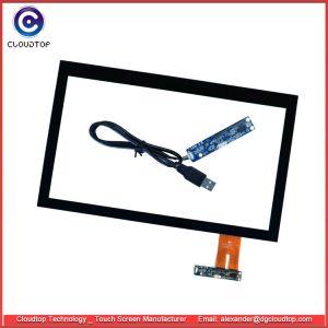 17.3  POS het Scherm van de Aanraking ontwierp de Capacitieve Interface van het 16:9 USB van de Aanraking