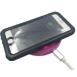 Aluminiumlegierung-schnelle drahtlose Handy-Aufladeeinheits-ultra dünne schnelle drahtlose aufladenauflage