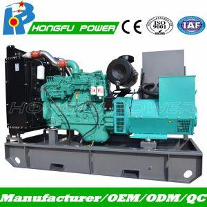313kVA 비상 전원 열려있는 유형 전기 Cummins 디젤 발전기