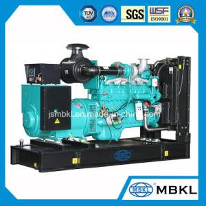 425kVA/340kw démarrage électrique générateur diesel Cummins type ouvert 6ztaa13-G4