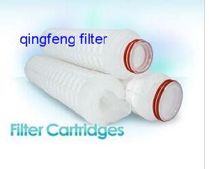 Cartucho do filtro de pregas de Pes para vinho/filtração da cerveja