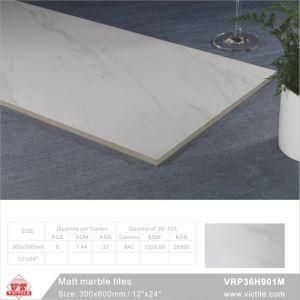 建築材料の大理石のマットの磁器の床タイル(VRP36H901、300X600mm/12  x24 )