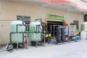タンザニアの顧客の水処理のための3000L/H海水の海水淡水化プラント