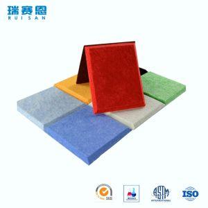 Écran antibruit décoratif amical de fibre de polyester d'Eco pour le mur