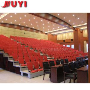 China-haltbare allgemeine Möbel-einziehbare Haupttribüne sitzt hölzerne Armlehnen-Kippplastikteleskopischem Hochleistungsstandplatz vor