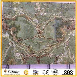 Hintergrundbeleuchtunggrüner Onyx für Hintergrund-Wand-/Fußboden-Fliesen