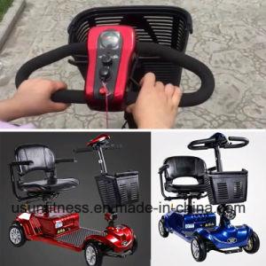 Confortableのシートが付いている4つの車輪磁気ブレーキ移動性のスクーターが付いている電気移動性のスクーター