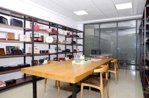 رفاهية عادة أسود كبيرة مكتب جلد مجوهرات [ستورج بوإكس] خزانة