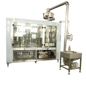 De sprankelende Fles die van het Glas van de Drank tot Was maken het Vullen het Afdekken Automatische Machine