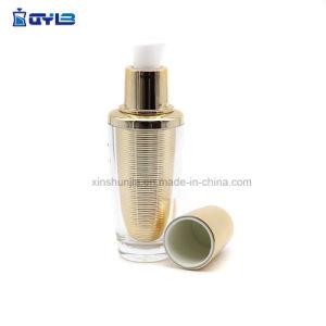 Различные возможности уникальный роскошный косметической упаковки УФ пластиковых бутылок
