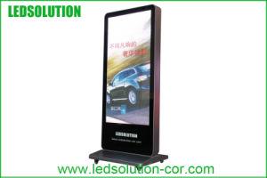 P4 à l'intérieur de la publicité numérique permanent libre affichage LED