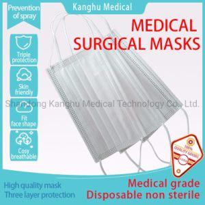 Kanghu одноразовые медицинские хирургические маски /защитных хирургических Medic Скорость фильтрации 95% Тип Iir