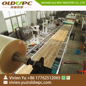 Uitdrijving van de Bevloering van SPC van de Vloer van de Plank WPC van pvc de Waterdichte Houten Vinyl