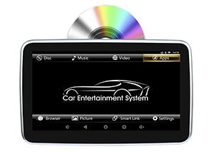 androides System der hinterer des Sitz10.1inch Unterhaltungs-DVD (Schlitz-in der DVD Ladevorrichtung)
