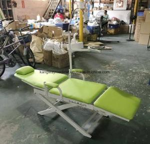 工場安い病院のカメラ(SLV-D005)が付いているFoldable携帯用必要な歯科単位の椅子