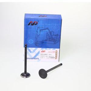 Klep van de Uitlaat van de Motoronderdelen van het Graafwerktuig van de Apparatuur van de bouw de MiniEn de Klep van de Opname voor 6D14