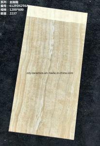 Ontwerp van het Bouwmateriaal van Foshan Poetste het Nieuwe Houten de Verglaasde Tegels van de Vloer op Grossy