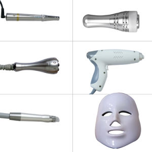 高エネルギー顔のスキンケアの美装置のための多機能の6つのN 1水酸素のジェット機の皮