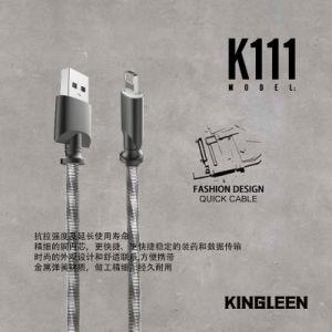 3FT/1m Cable de carga de relámpagos trenzado metálico cables para iPhone X/8/7/7plus/6/6plus/6s/6s