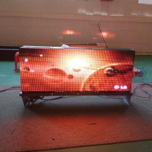 Impression recto verso P3, P4, P5 pleine couleur haut de taxi conduit l'affichage de publicité