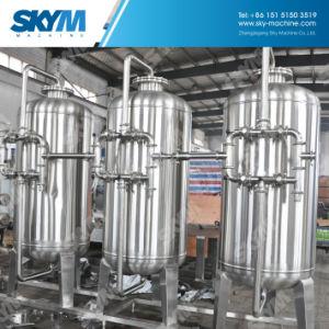 A gran escala 10t/h ro de la máquina de purificación de agua para riego y llenado