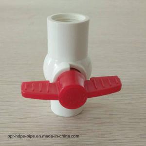 Hot vendre ou de thread de socket mini mixte en plastique PVC Clapet à bille pour l'eau potable