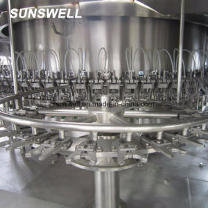 Het Spoelen van de Vullende Machine van het sap/van de Melk het Aseptische Vullende Afdekken Monoblock