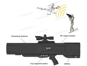 Professionele Uav van de Hommel Stoorzender/Blocker, de Mobiele Stoorzenders van het Signaal van de Telefoon, de RichtingMeters van de Waaier >1500, DJ200 voor RC2.4GHz 15W/RC5.8GHz 10W/Gpsl1 15W/Gpsl2+Gpsl5 15W,