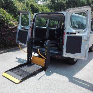 セリウムは証明したヴァンの無効車椅子用段差解消機(WL-D-880U)のための電動車椅子の上昇を