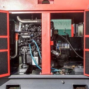 セットを生成する120kw 150kVA Volvoの防音のディーゼル発電機(TAD532GE)