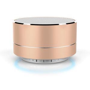 Лучшие продажи мини-Bluetooth беспроводная АС динамика металлическая переносная беспроводная АС Bluetooth FM радио аудио TF карты памяти USB-гарнитуры для использования вне помещений Металлические мини-динамик