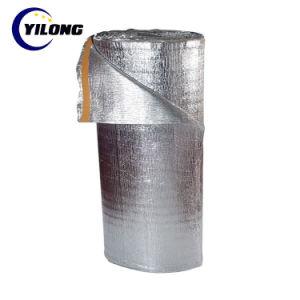 屋根の熱の熱絶縁材の泡によって支持されるアルミホイル